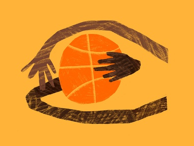 Jump Ball bball hoops texture tangled jump ball play orange sports hands arms basketball