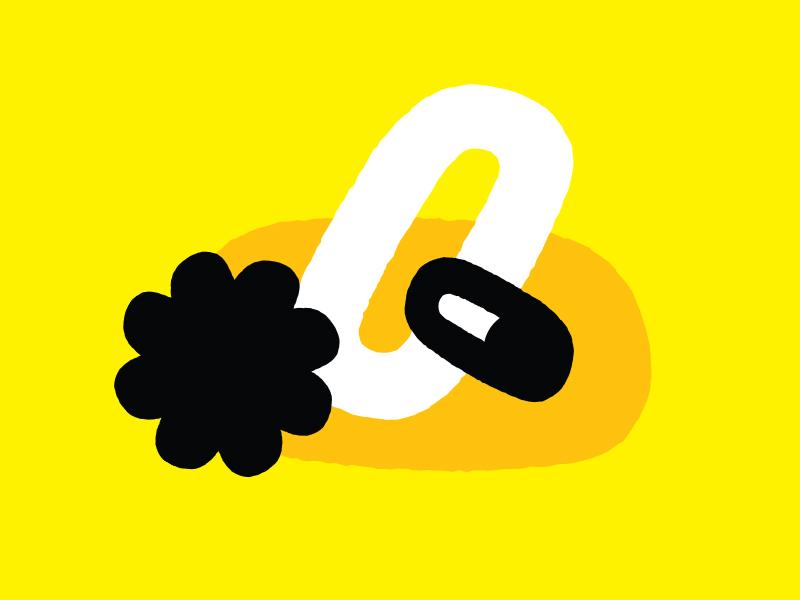 Potato mustard messy ovals abstract yellow shapes eyeball eye flower collage potato