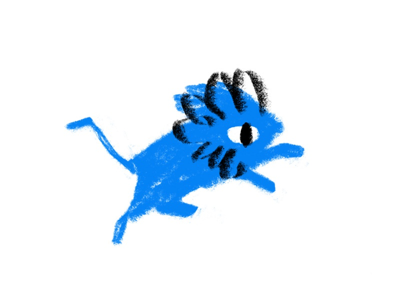 Blue Lion logo tail blue lion blue mane sports animal detroit lions lion football national football league nfl