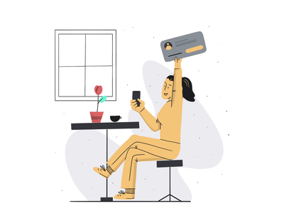 Make onboarding great again yellow red profile product illustration pictogram onboarding illustration onboarding screen onboarding illustration digital illustration chat app animation