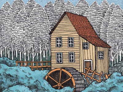 book illustration legend mill