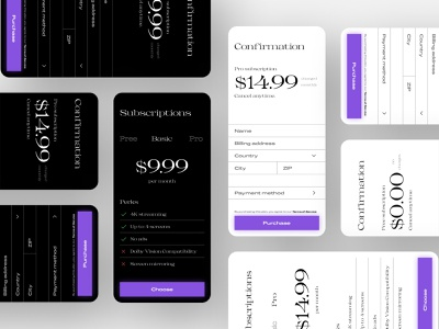 Daily UI 26 — Subscription spacing black and white color 026 dailyui 026 payment netflix subscription minimal app mobile daily ui figma dailyui ux ui
