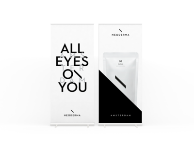 Neoderma rollup banners