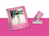 Jolly Pink Footwear Ad and Gift Card