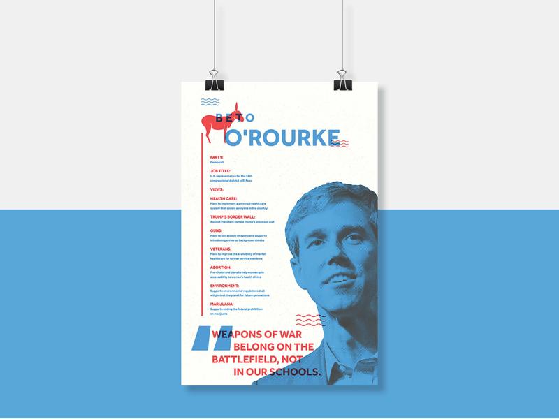Informational Voting Poster beto print design print layout