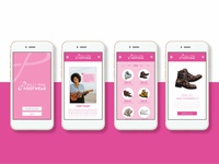 Jolly Pink Footwear App