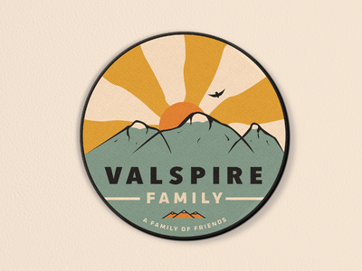 Valspire Family Patch