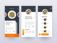Come Across Food UI