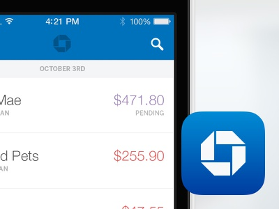 Chase iOS App chase bank ios iphone banking mobile