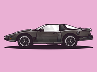 1982 Pontiac Firebird (KITT from Knight Rider)