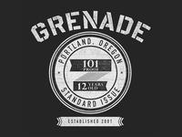 Grenade Label