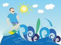 It's summer..let's surf! :D