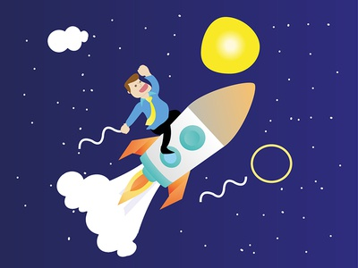 Startup Design Illustration