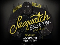 Sasquatch Black IPA