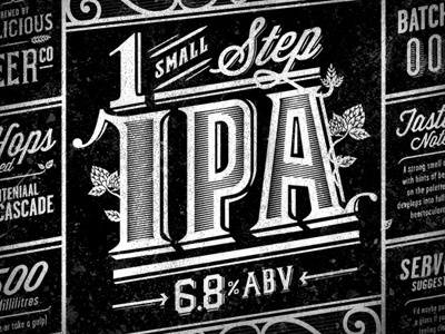 Homebrew Beer Label By Josh Smith - Dribbble