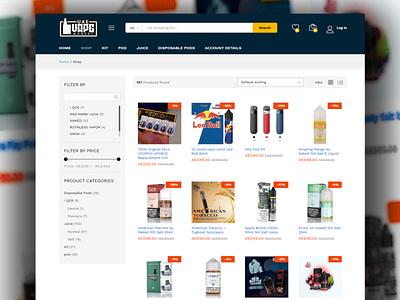 E-Commerce website design for vape market uae ecommerce elementor vape vapesociety vapesociety vapepics vapeshop vapelove vaper vapers vapestagram vapetricks vapelyfe vapecommunity vapeon vapeporn vapenation vapelife