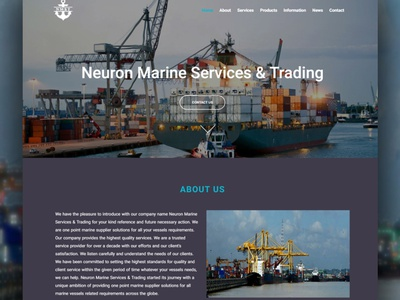marine part supplier company website design wordpress website design elementor build a website used marine spare parts used marine parts marine parts marine spare suppliers marine spare parts website