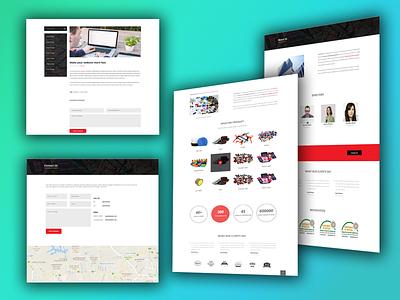 Garments accessories industry website Design website building wordpress development accessories