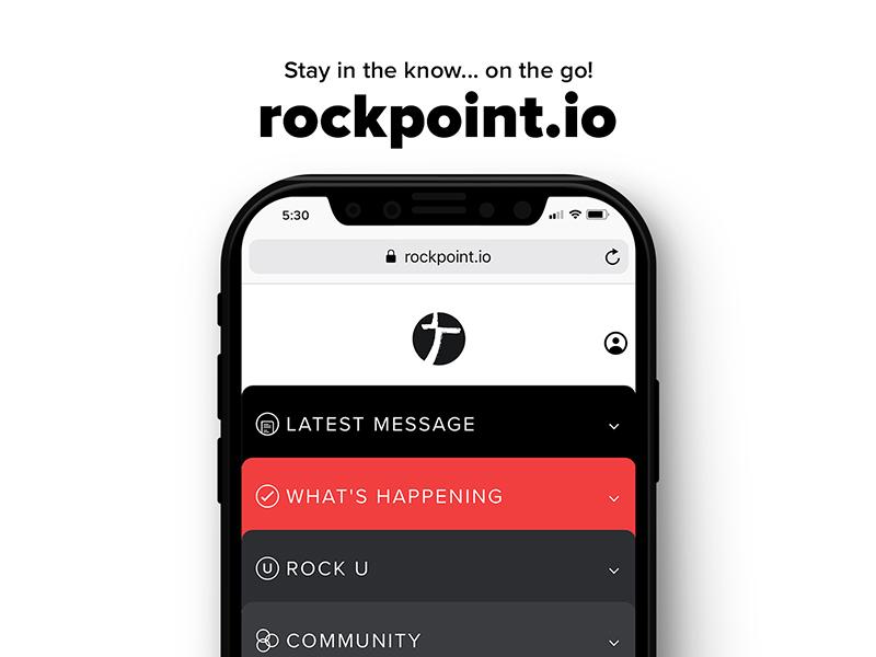 Mobile Site Design iphone x web design ui crtvhurch