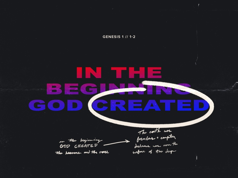 The Beginning design church creative crtvchurch