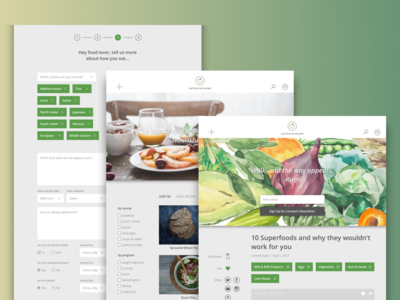 Website Design for a Nutritionist