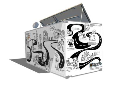 Grafitti & Illustration for LifeMapz