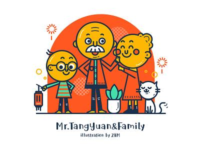 Lantern Festival illustration元宵节小插图 ui design illustration