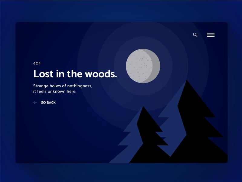 404 Page—UI Weekly Challenges-Season 02 / Week [2/10] weekly challenge error page 404 ui