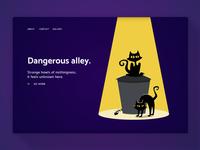 404 Page—UI Weekly Challenges-Season 02 / Week [2/10] weekly challenge error page illustration 404 ui