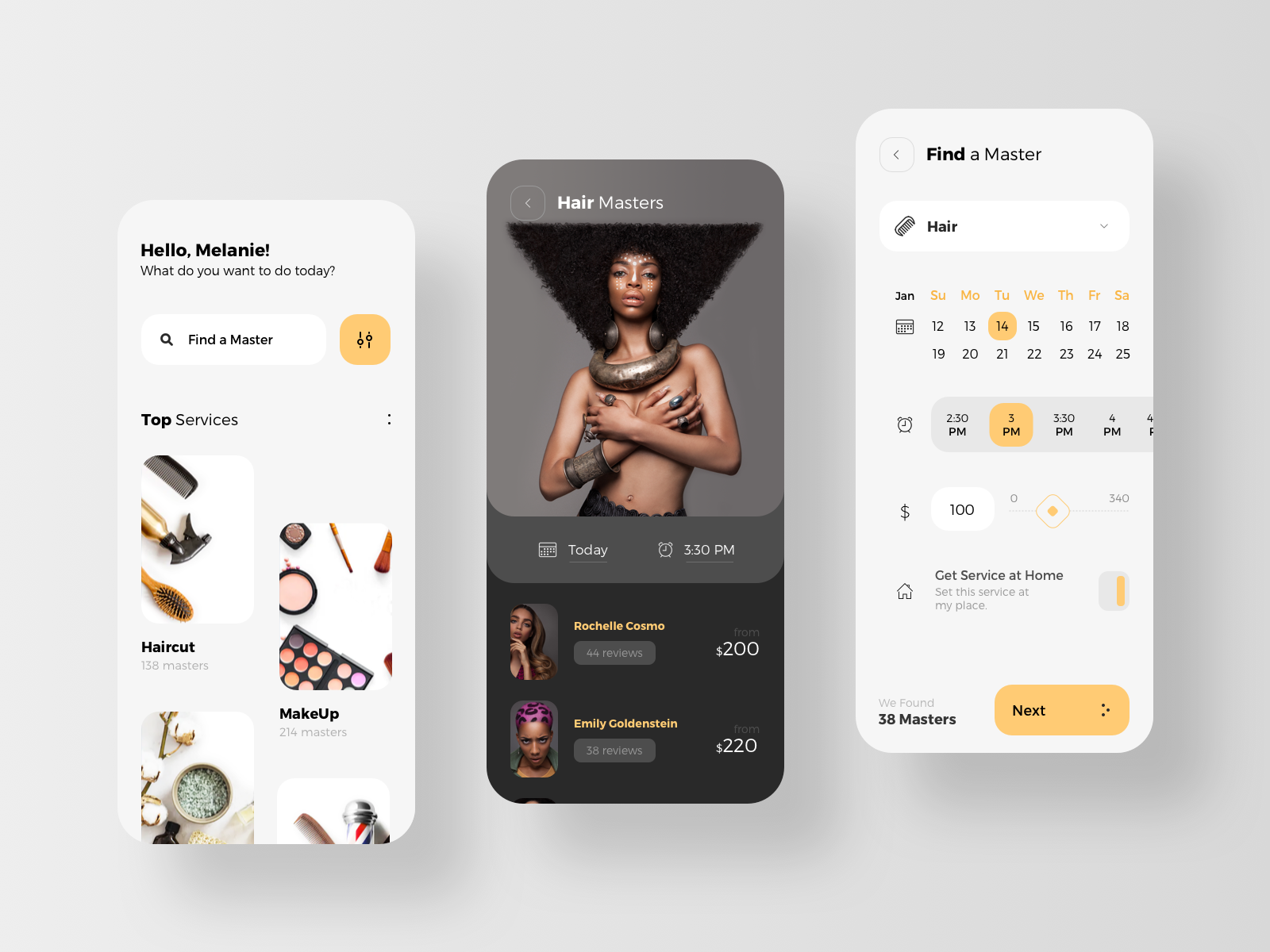 Service Providers Marketplace App