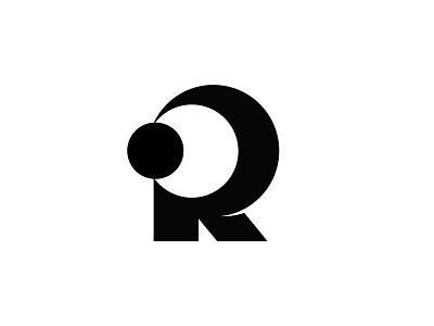 R is for Rest mark rest sleep sun moon typography type symbol r logotype logo letter identity design