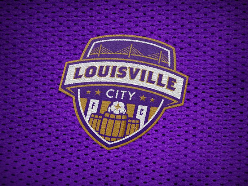 Louisville City FC logo identity soccer usl louisville kentucky football lcfclogo concept louisville city fc shield badge