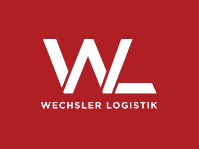German Logistics  brand wl international typography logistics transportation german logo mark identity letter monogram