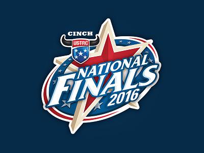 2016 USTRC Finals sports 2016 ustrc star roping finals championship athletics design logo national