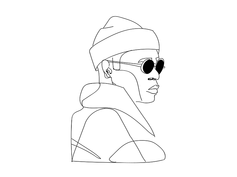 Dude With Glasses By Z O E On Dribbble