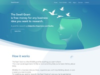Landing page swell grant