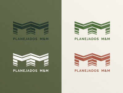Branding: Planejados M&M furniture logo logo design logodesign logotype illustrator brand icon typography illustration vector logo branding design