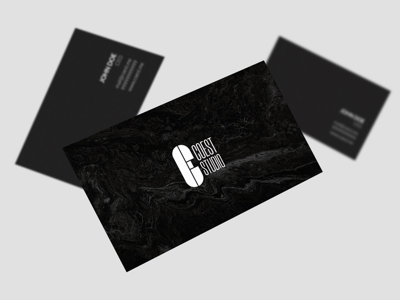 Business Card: COEST STUDIO studio business card card graphic design design print photoshop brand