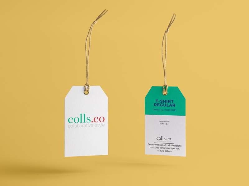 Branding: colls.co tag apparel clothing brand clothing logo illustrator graphic design design print photoshop brand