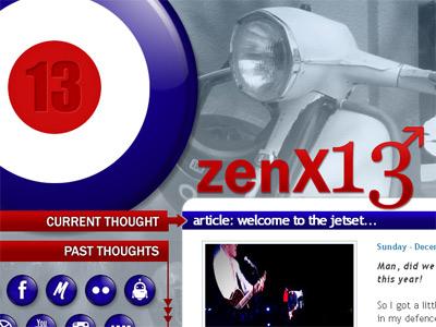 zenX13 webs personal mod web design