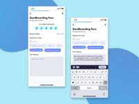 Post Review Screens - Travel App