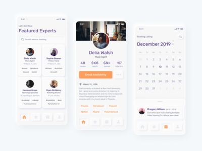 Mobile design for a microconsulting platform