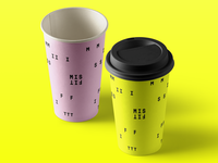 MISFIT Coffee Cups