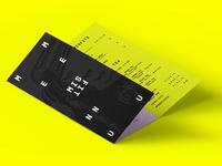 MISFIT menu