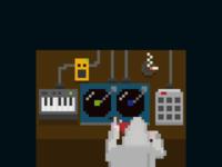 Turntables pixel art