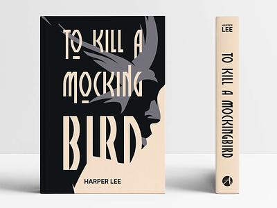 To Kill a Mockingbird BOOK COVER book cover conceptual illustration custom type typography conceptual vector illustration face portrait adobe illustrator vector artwork illustration