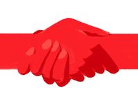 Solidarity with Belarus жывебеларусь protest hands belarus red flat artwork illustration