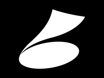 Letter b font type logo icon symbol typography art typography 36daysoftype