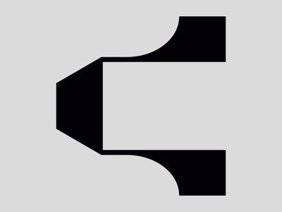 Letter C icon symbol logo font type typogaphy 36days 36daysoftype
