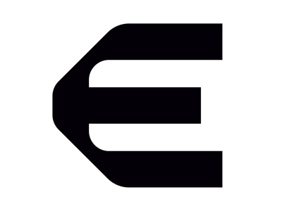Letter E illustrator icon symbol logotype logo typo font design font type typography 36days 36daysoftype